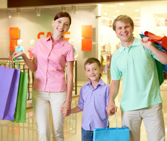 Cleaners of shopping centres